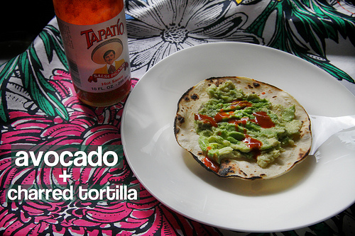 Avocado + Charred Tortilla