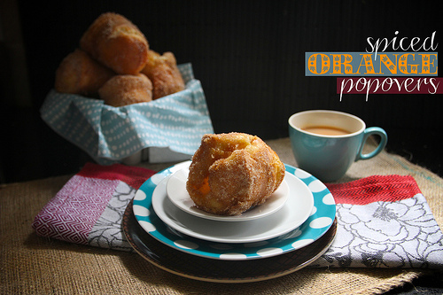 Spiced Orange Popovers