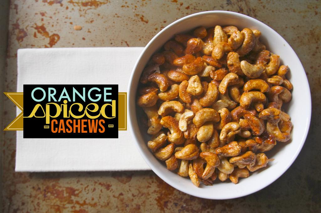 Orange Spiced Cashews