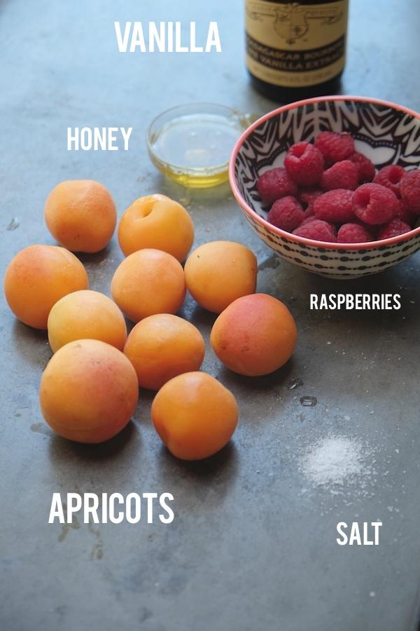 Apricot Raspberry Ice Cream Cake // shutterbean