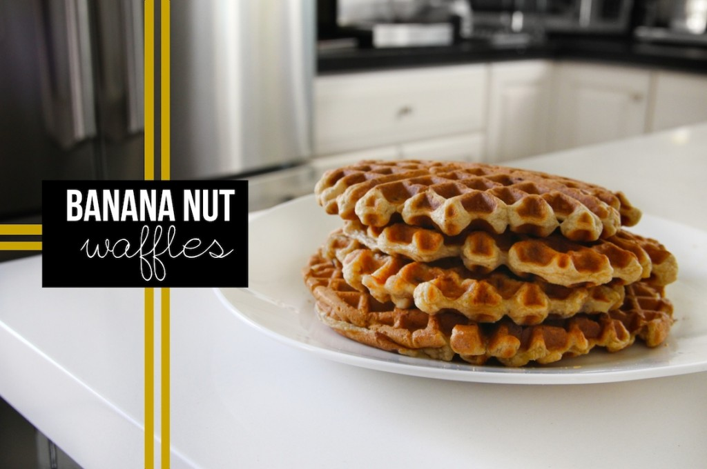 Banana Nut Waffles