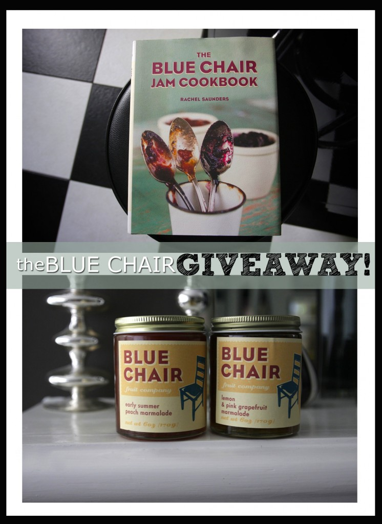 The Blue Chair Giveaway!