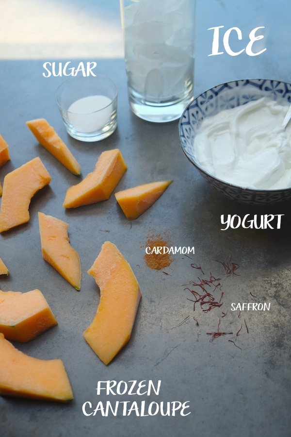 Cantaloupe Lassi // shutterbean