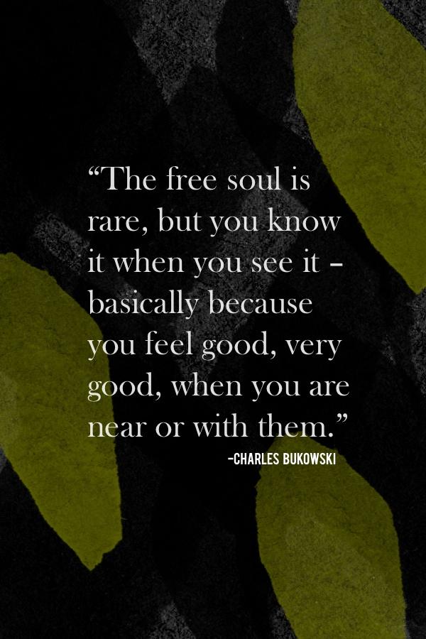 The free soul is rare // shutterbean
