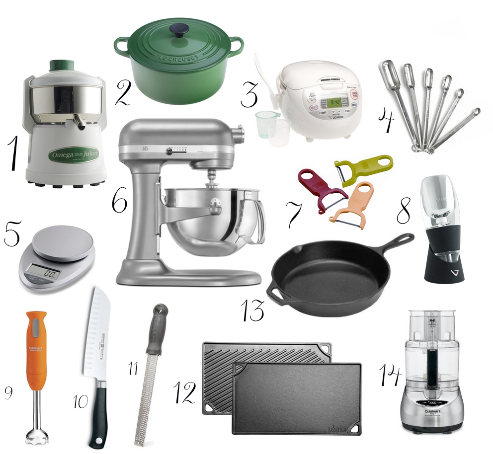 MY FAVORITE KITCHEN TOOLS: PART 1