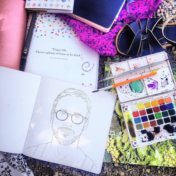 Coloring Books for Adults // shutterbean