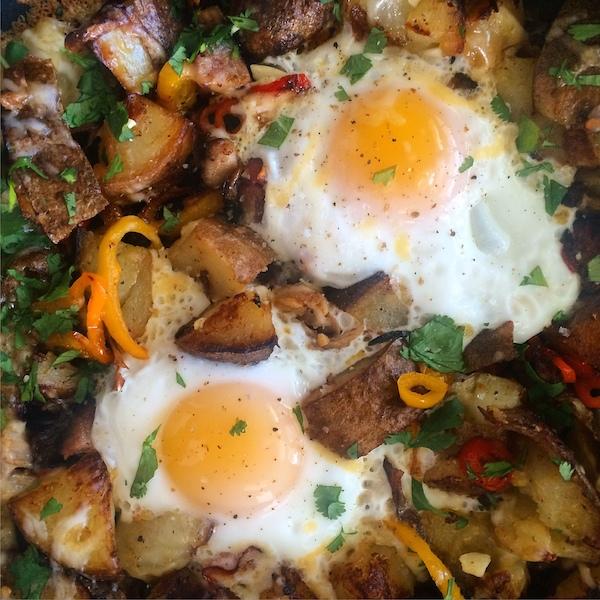 Pulled Pork & Potato Hash // shutterbean