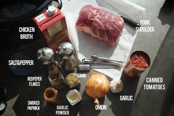 Slow Cooker Pulled Pork // shutterbean