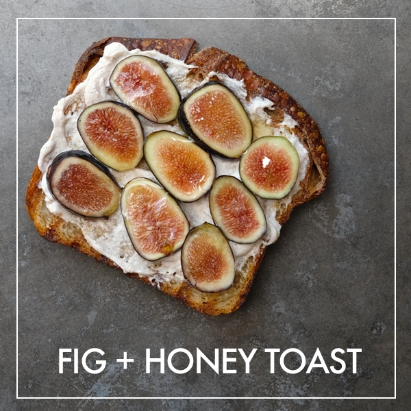 Fig & Honey Toast