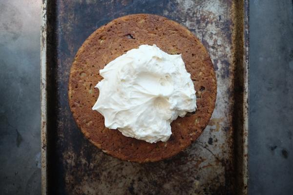 Zucchini Cake with Cream Cheese Frosting // shutterbean