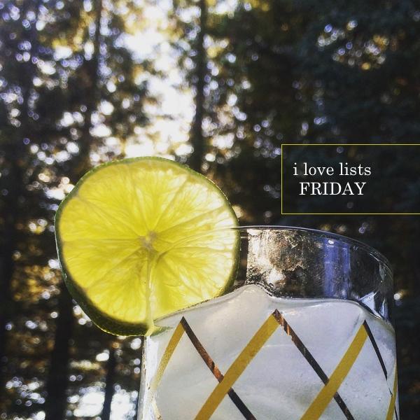 I love lists Friday // shutterbean