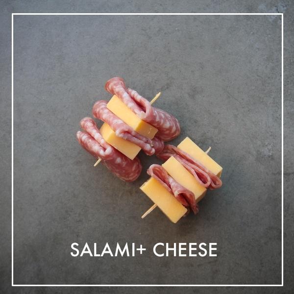 Salami + Cheese
