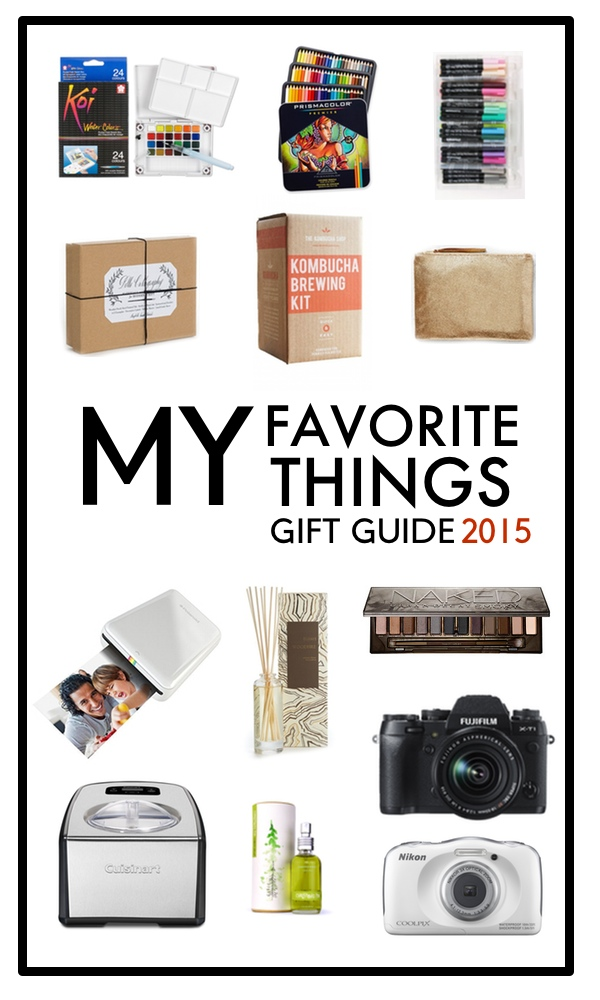 Favorite Things: Holiday Gift Guide