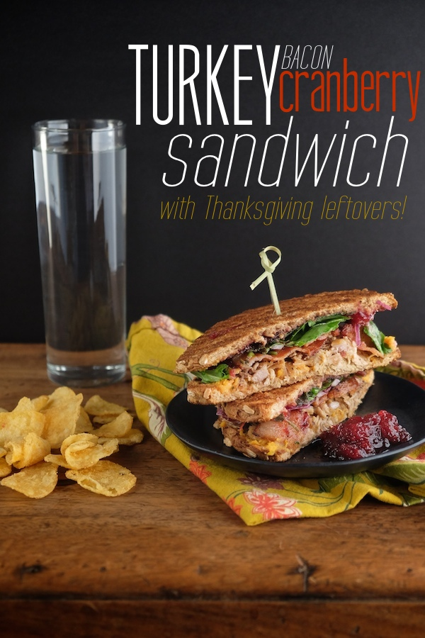 Turn your Thanksgiving leftovers into an amazing sandwich! Check out this Turkey Bacon Cranberry Sandwich made with Dave's Killer Bread on Shutterbean.com