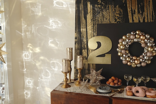 Celebrate the New Year with a Champagne & Doughnut New Year's Party with Pier One! Check out more on Shutterbean.com