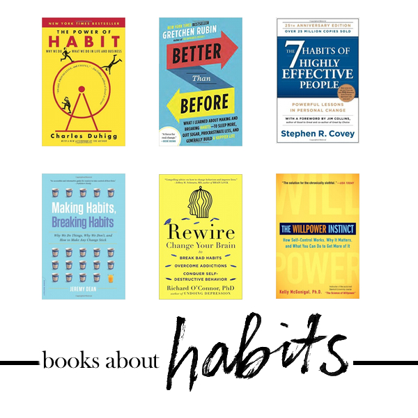 Habit Forming & books to look into. Check out more on Shutterbean.com!
