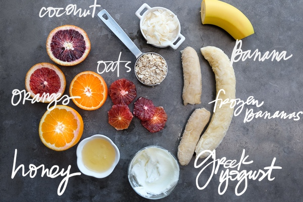 Celebrate citrus season with a Citrus Smoothie Bowl! It's packed with Vitamin C. Find the recipe on Shutterbean.com