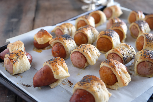 You'll have no leftovers if you make Pigs in Blankets! Find the recipe on Shutterbean.com