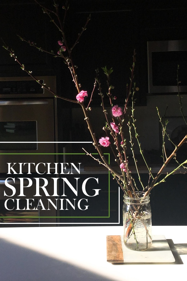 Kitchen Spring Cleaning