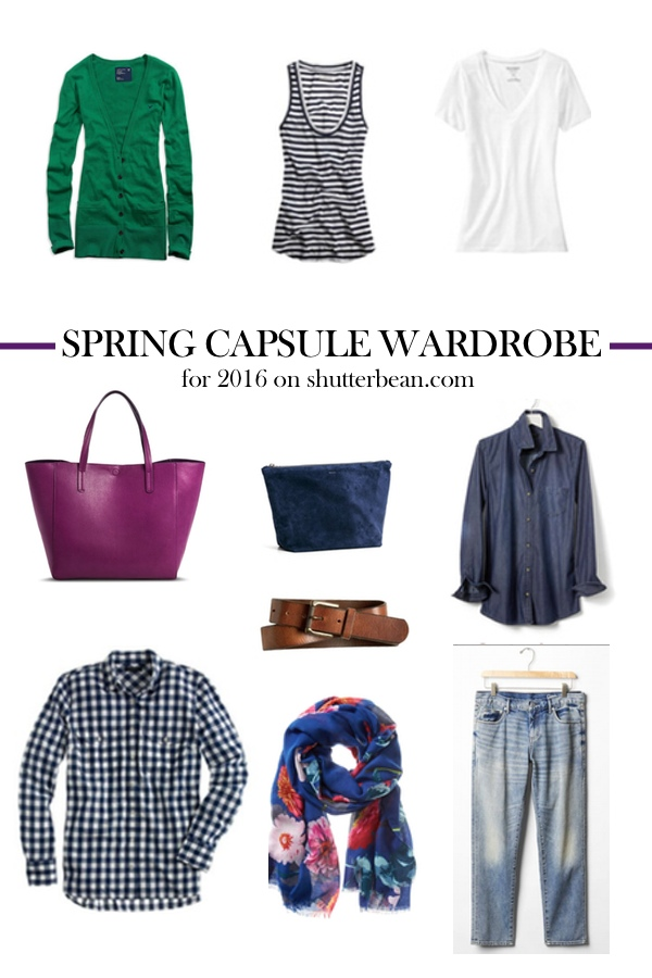 Spring Capsule Wardrobe 2016 on Shutterbean.com