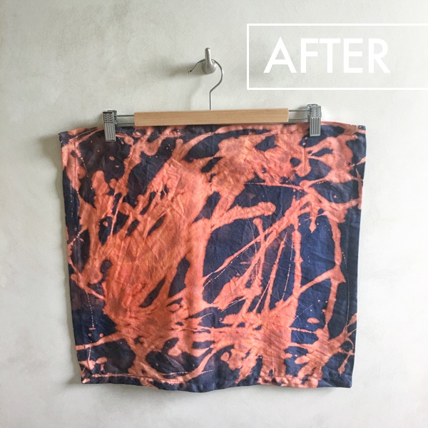 The easiest/most inexpensive way to tie-dye is with bleach! Check out this Tie Dying with Bleach Tutorial on Shutterbean.com!