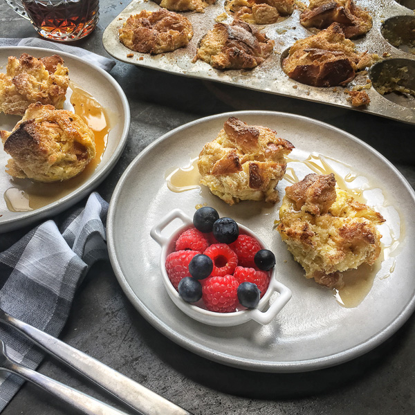 Shake up your breakfast game with these Cinnamon French Toast Muffins. Find the recipe on Shutterbean.com!