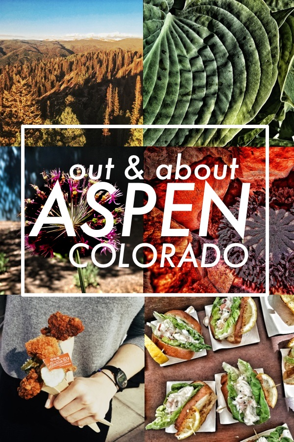 Out & About: Aspen, CO