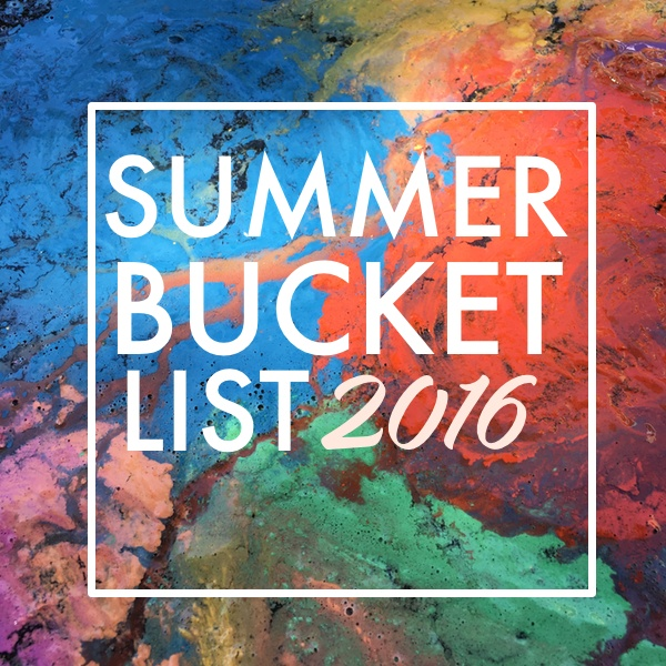 Summer Bucket List 2016 on Shutterbean.com