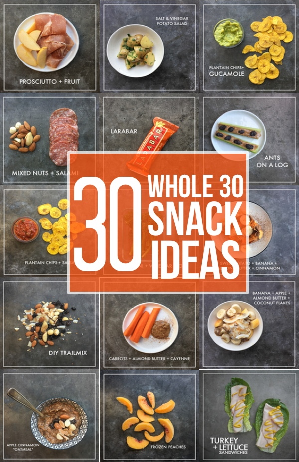 Whole 30 Snack Ideas (30 of them!)
