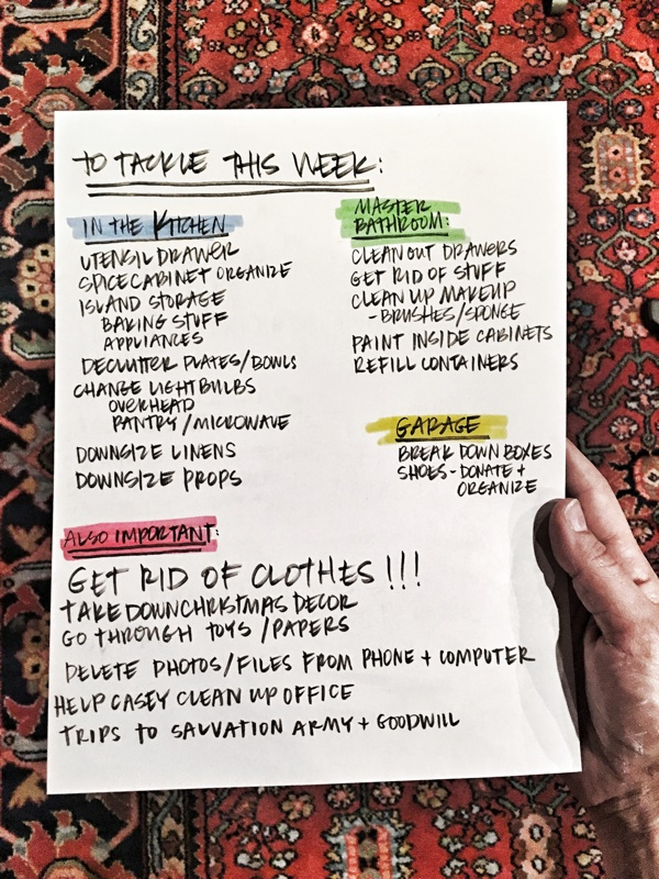 Getting Organized for the New Year starts with a TO DO LIST! See more on Shutterbean.com