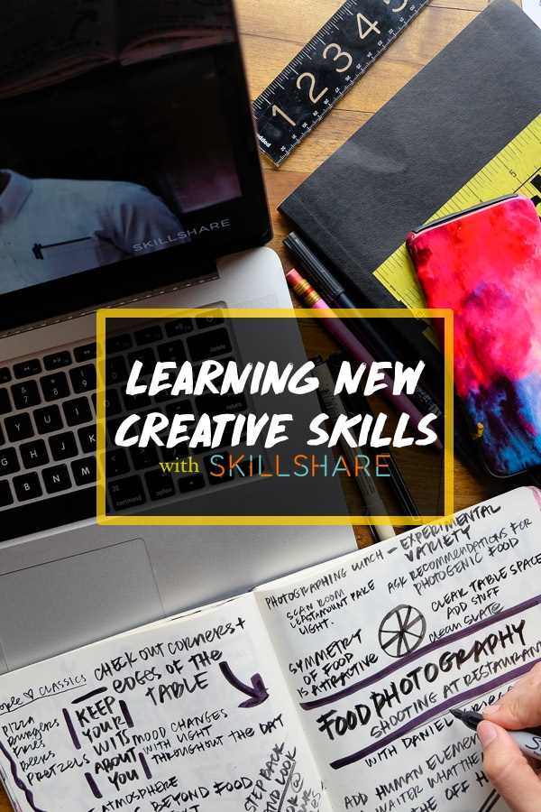 Learning New Creative Skills with Skillshare on Shutterbean.com