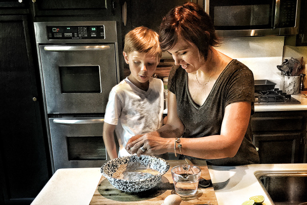 Making French Toast from scratch with kids is a great way to empower them to continue learning in the kitchen! See more on Shutterbean.com