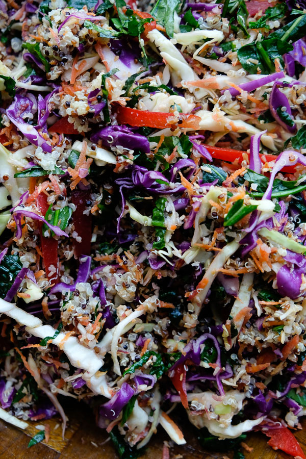 If you're looking for a good reset, check out this Coconut Quinoa Salad from Naturally Nourished. Recipe is on Shutterbean.com!