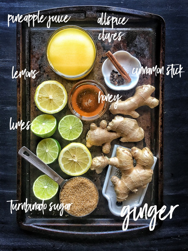 Love ginger beer? You can make your own concentrate for drinks & cocktails. Find the recipe on Shutterbean.com