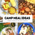 Tracy from Shutterbean.com shares her Camping Meal Ideas to liven up your camp life!