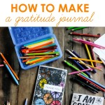 How to Make a Gratitude Journal - with and for kids! See more on Shutterbean.com