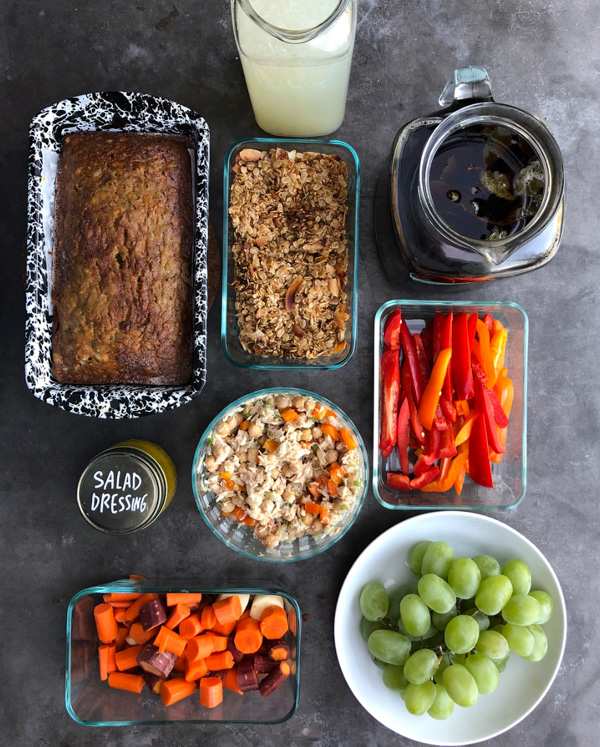 Intentions for the Week/ Meal Prep on Shutterbean.com