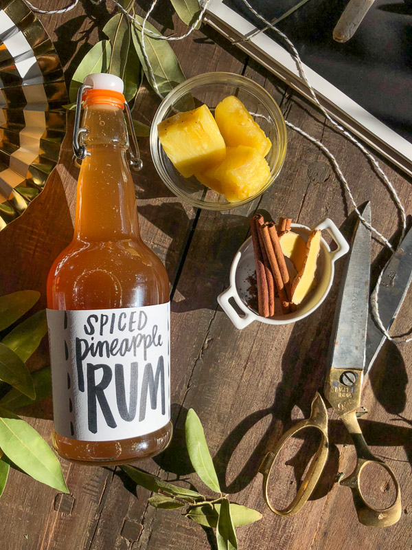 Spiced Pineapple Rum Toddies from Shutterbean.com!