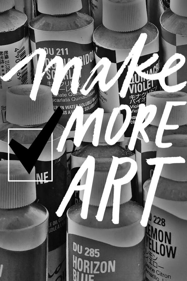Make More Art in 2018