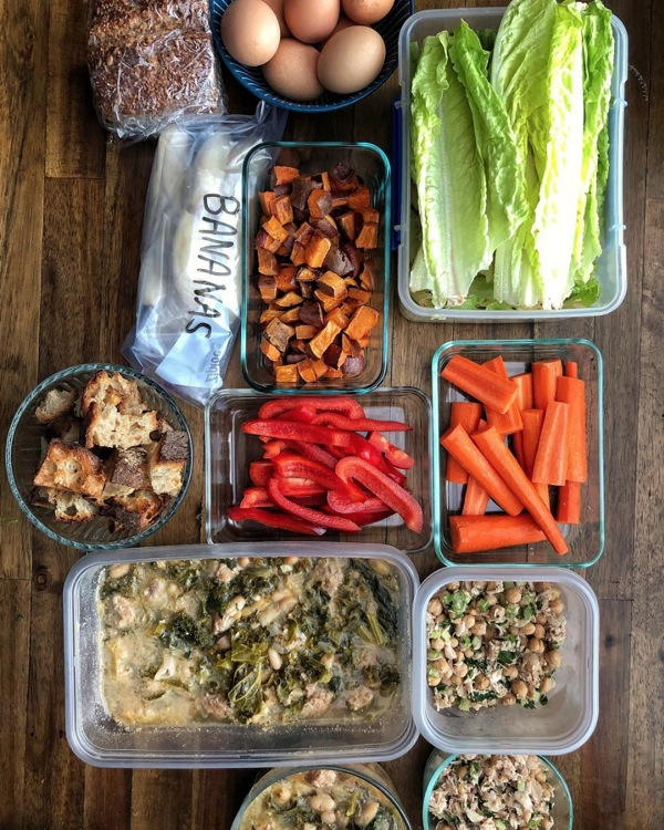 Shutterbean Meal Prep on Intentions for the Week