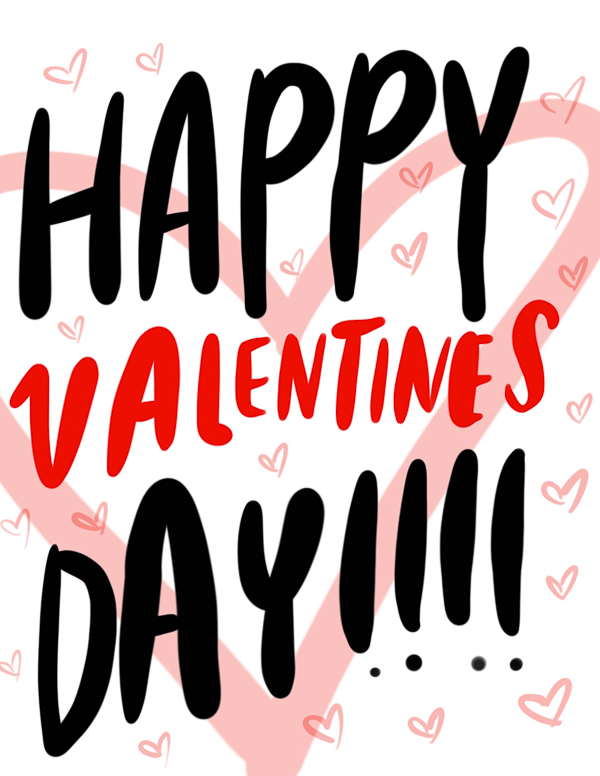 Happy Valentine's Day from Tracy of Shutterbean.com
