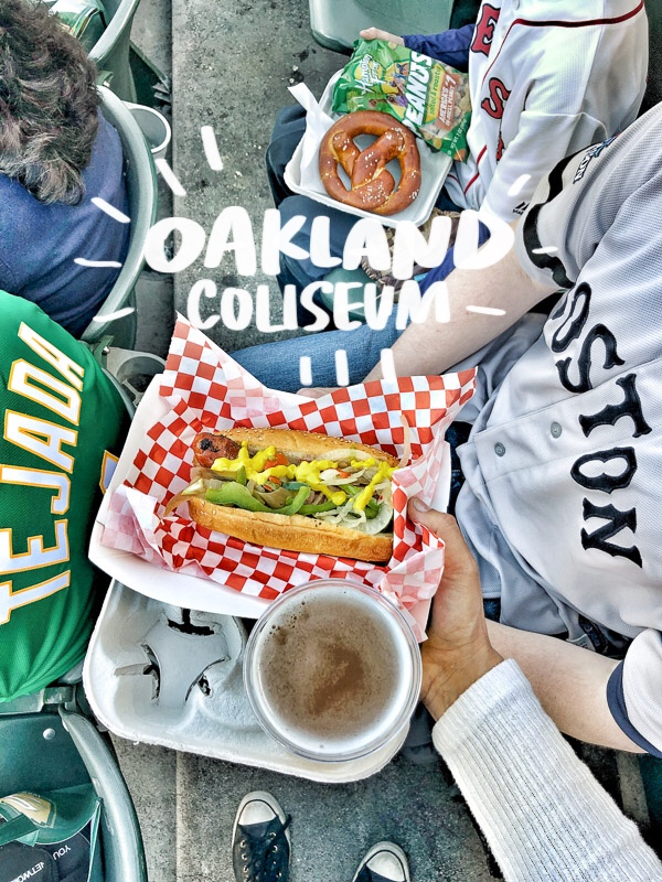 Out & About: Oakland Coliseum