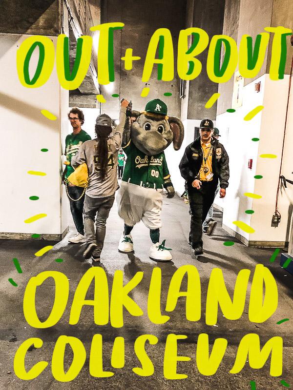 Out & About: Oakland Coliseum - more on Shutterbean.com!