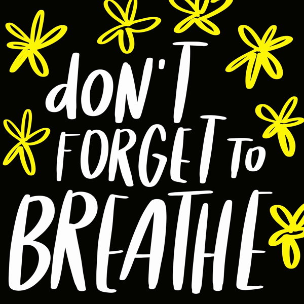 Don 't Forget to Breathe- Image by Tracy Benjamin of Shutterbean.com