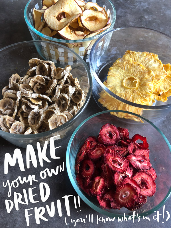 Ever wanted to Make Your Own Homemade Dried Fruit? Tracy from Shutterbean shows you how!