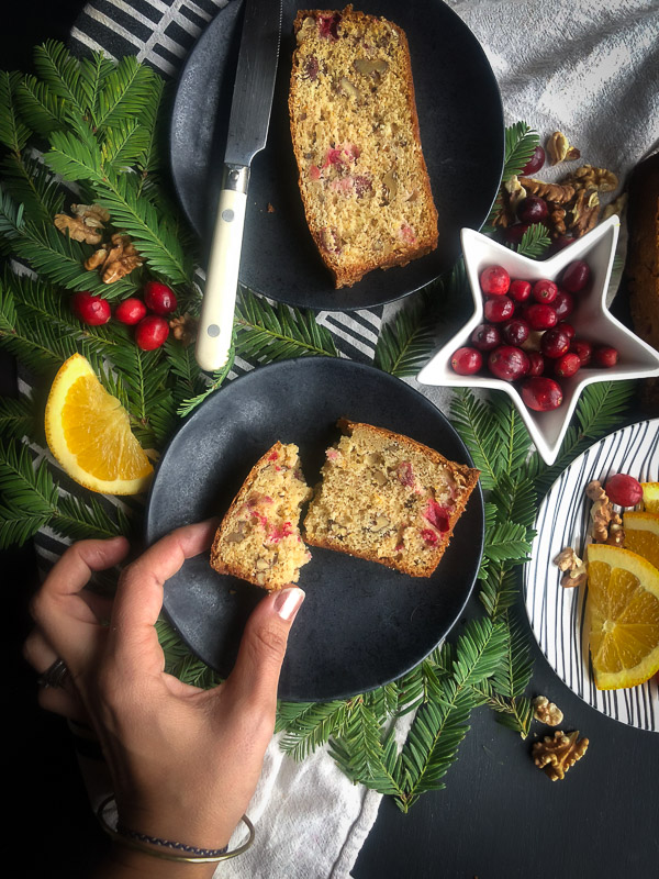 Cranberry Nut Bread is a recipe to pull out during cranberry season! Find the recipe on Shutterbean.com