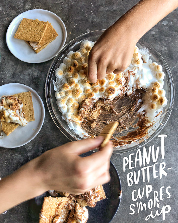 Peanut Butter S'mores Dip