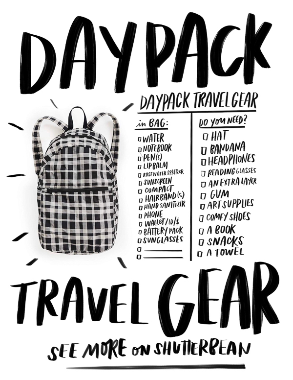 Daypack Travel Gear