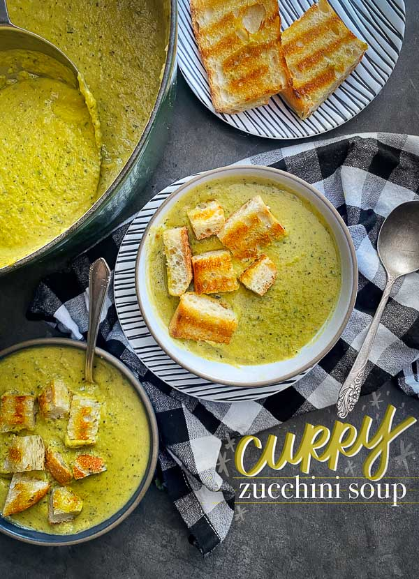 Curry Zucchini Soup (dairy-free!)