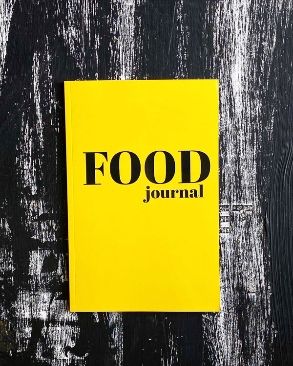 The Food Journal- by Tracy Benjamin of Shutterbean.com & The Handwriting Club